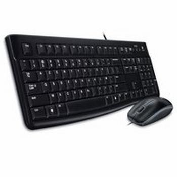Logitech MK 120 toetsenbord en muis